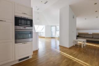 арендовать стильную просторную 4-комнатную квартиру с террасой в центре СПБ