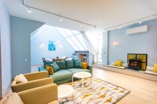 арендовать современную 4-комнатную квартиру в элитном доме в центре Санкт-Петербург