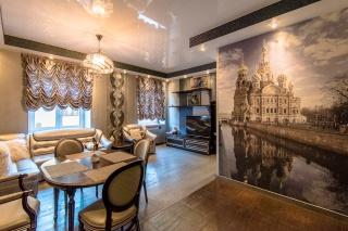 классическая 2-комнатная квартира в аренду в центре С-Петербург