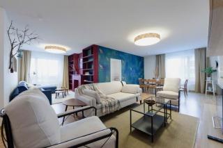 арендовать стильную 4-комнатную квартиру с террасой на Васильевском острове С-Петербург