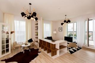 квартира с террасой в аренду в новом доме СПБ