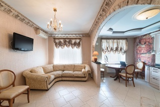 real estate rental in a modern house St-Petersburg