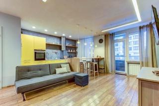 сниму стильную 2-комнатную квартиру с лоджией в Санкт-Петербурге